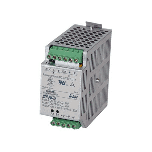 DLP-PU - 24VDC 20A Redundancy Module Din Rail