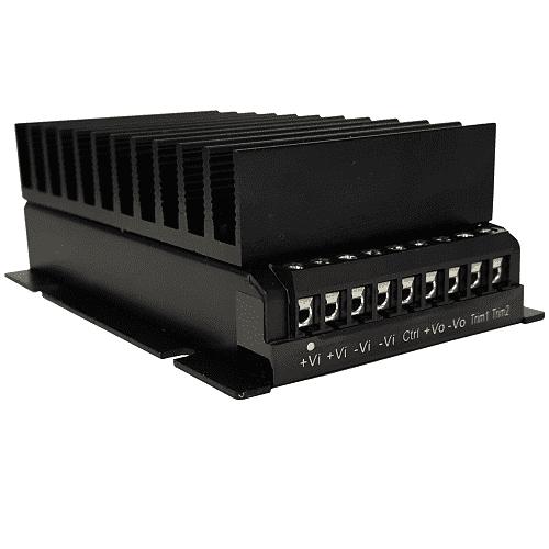 WAF150 Series - Railway Standards DC/DC converter 12V 15V 24V 48V output voltage.DIN Rail & Chassis Mounting